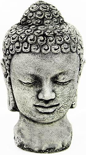 Buddha Head Concrete Home and Garden Statues Asian Yard Art