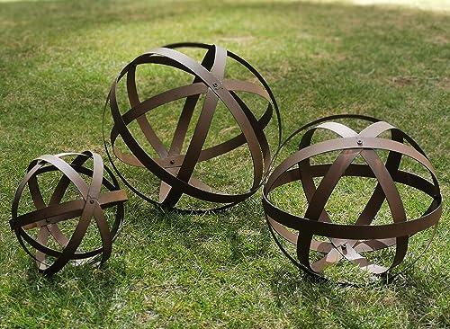 BSTGIFTS Metal Garden Spheres