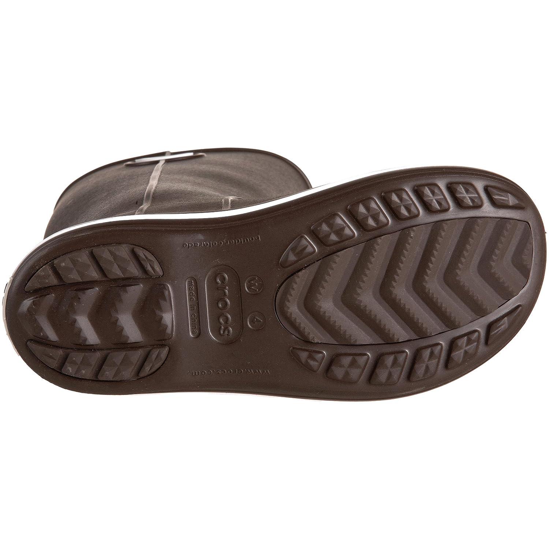 Crocs Gummistiefel Damen Crocband Jaunt Damens Gummistiefel Crocs Braun (Espresso) f6e3ce