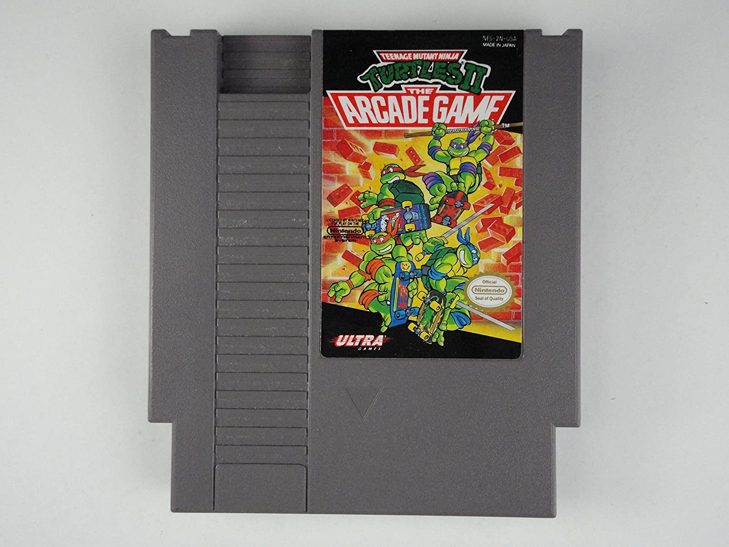 北米版ファミコンTeenage Mutant Ninja Turtles II the Arcade Game B000MFOOLY