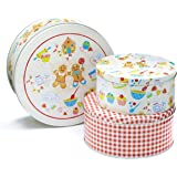 Cooksmart Set of 3 Cooksmart Gingerbread Cake Tins