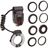 Neewer Macro TTL Ring Flash Light with AF Assist Lamp for Nikon I-TTL Cameras/ such as D7000, D5000, D5100, D3200,D3100, D3000, D3 series, D800,D700, D2 series, D300 series, D200, D90, D80s D70 series, D60, D50, D40 series, F6, COOLPIX8800, COOLPIX8400, COOLPIX P5000, COOLPIX P5100,COOLPIX P6000 and all other Nikon DSLR Cameras