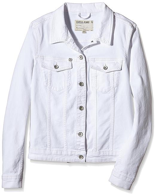Z0040 - Chaqueta Mujer, Blanco (White 50), 36 Garcia Jeans