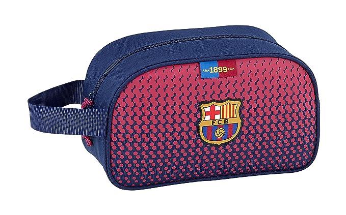 SAFTA Neceser F.C. Barcelona Corporativa Oficial Mediano con Asa 260x120x150mm