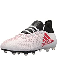 new style c9710 7fe07 adidas Men s X 17.2 FG Soccer Shoe, Grey Real Coral Core Black,