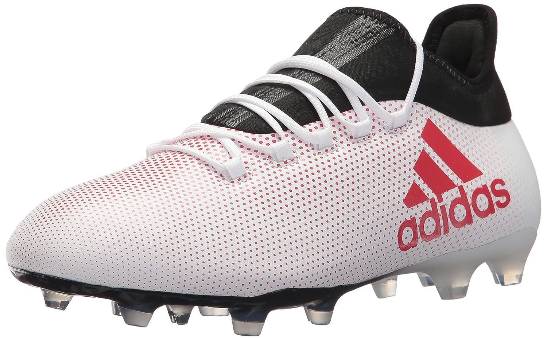 huge discount e301a d8a62 adidas Men's X 17.2 FG Soccer Shoe, Grey/Real Coral/Core Black, 7.5 M US