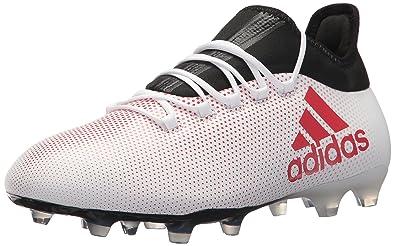 3d7078a2e Amazon.com | adidas Men's X 17.2 FG Soccer Shoe, Grey/Real Coral ...