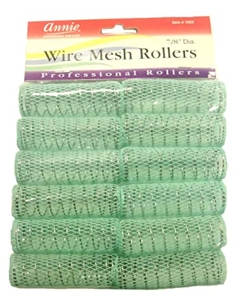 "Amazon.com : Wire Mesh Rollers 16/16"" Diameter #16 : Hair Rollers ..."