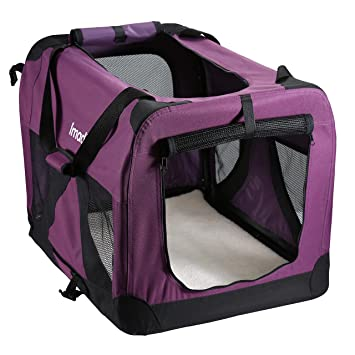 Portable Soft Dog Cat Carrier House Kennel Pet Puppy Travel Bag Cage Folding Bed