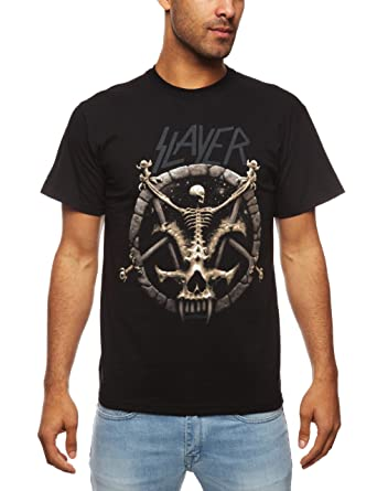1719c15a7 Amazon.com: Plastic Head Men's Slayer Divine Intervention T-Shirt: Clothing