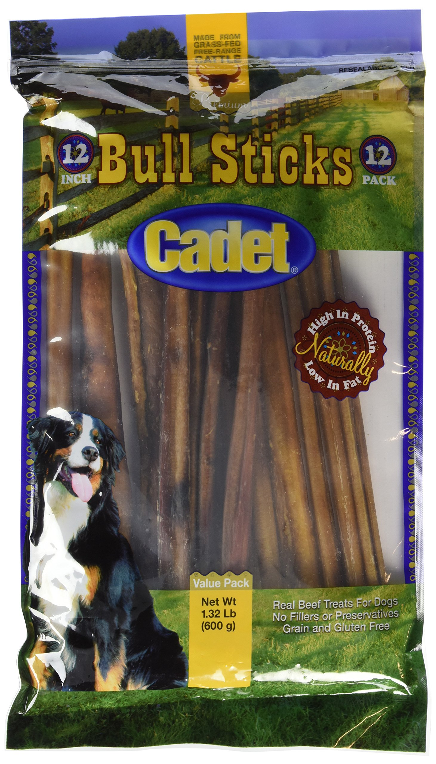 Cadet Gourmet Bull Sticks 12 Pack by Cadet