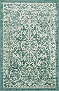 product image for Maples Rugs Area Rug - Pelham 5 x 7 Large Area Rugs [Made in USA] for Living Room, Bedroom, and Dining Room, Light Spa