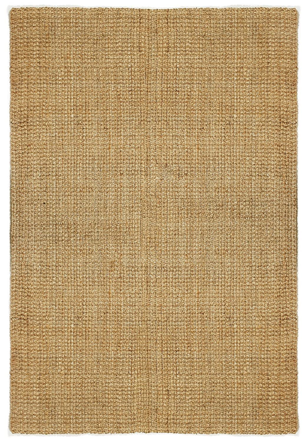 Amazon.com: Fab Habitat Essentials: Ranier Weave Jute Rug - Jute (6x9 Rectangular): Home & Kitchen