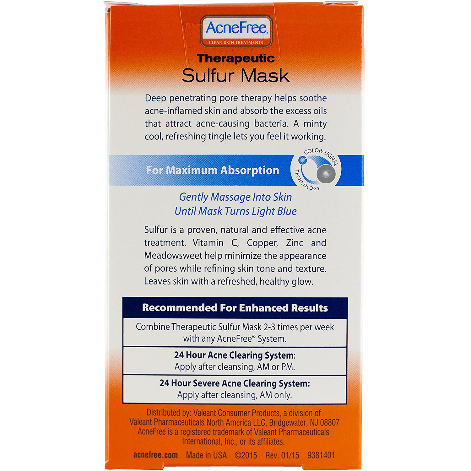 Amazon.com : AcneFree Sulfur Mask 1.7 oz with Vitamin C and Copper ...
