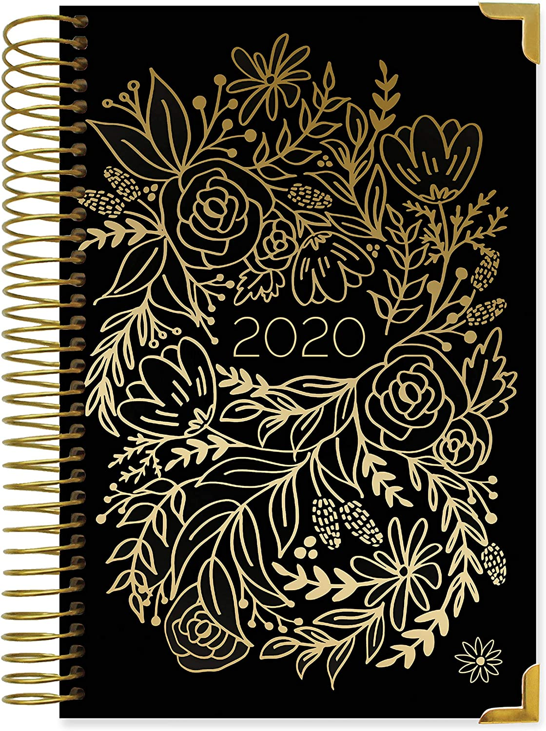 HARDCOVER bloom daily planners 2020 Calendar Year Day Planner (January 2020 - December 2020) - Passion/Goal Organizer - Monthly & Weekly Inspirational ...