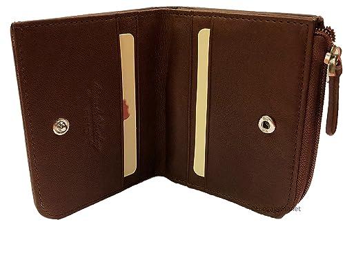 Osgoode Marley RFID Monedero W/bolsillo con cremallera S brandy: Amazon.es: Zapatos y complementos