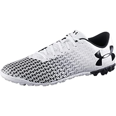 a6cd97277742 Under Armour Men's UA CF Force 3.0 TF Football Boots, white/black, ...