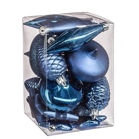 Turquoise Stalactite Epine de Pin Oignon WEB2O Kit 20 pi/èces d/écoaration Sapin Etoiles