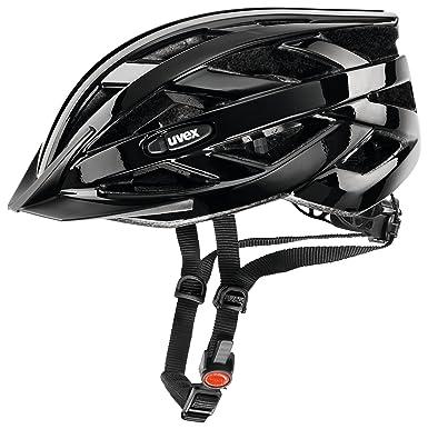 Uvex I-vo Casco de ciclismo, Unisex adulto, Negro, 52-57