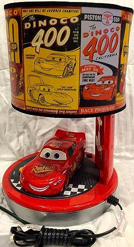 Disney CARS – Talking Lightning McQueen Table Lamp Alarm Clock Radio