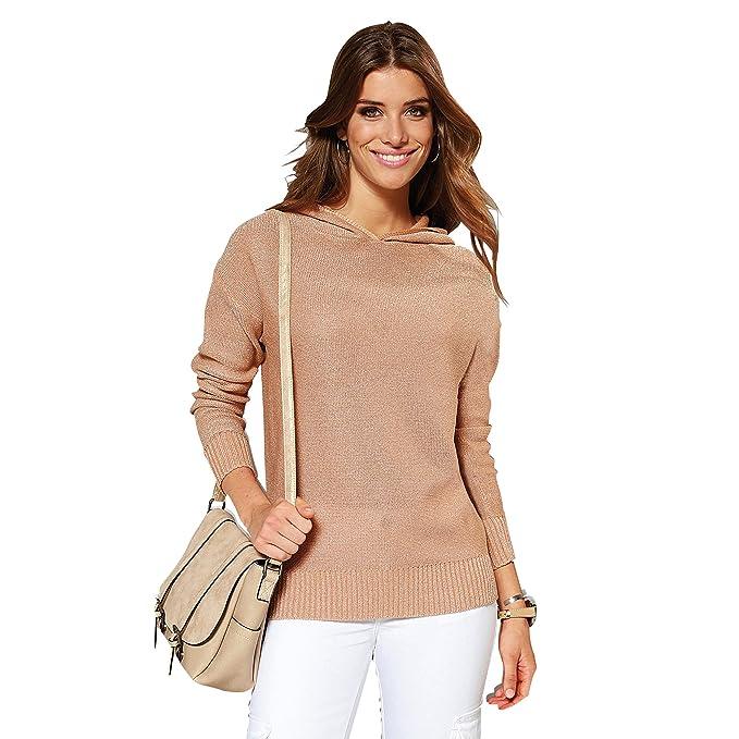VENCA Jersey con Capucha Mujer by Vencastyle - 013925: Amazon.es: Ropa y accesorios
