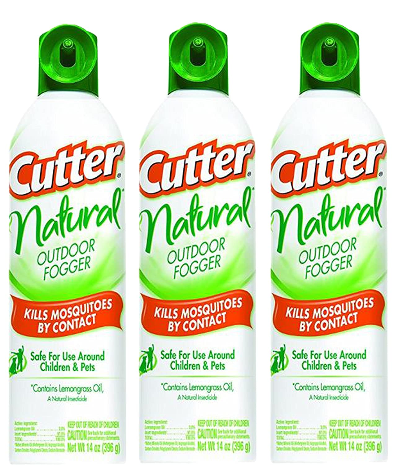 Amazoncom Cutter Natural Fogger Insect Repellent, 3 Pk14 Ozeach Can