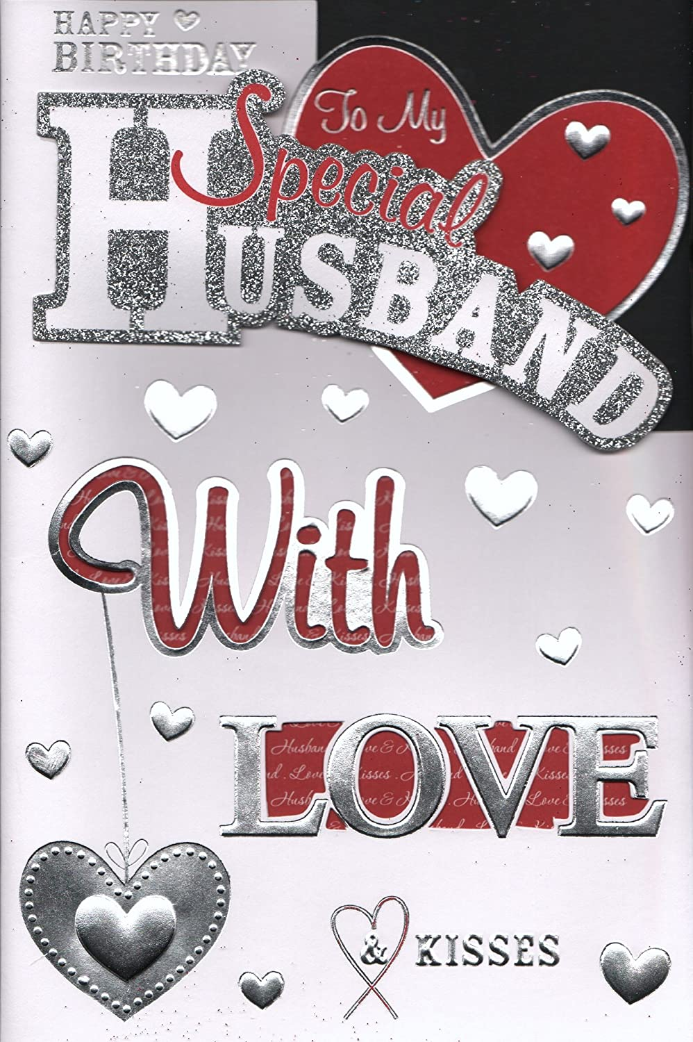Husband Birthday Card To My Special Husband Happy Birthday – Birthday Card for My Husband