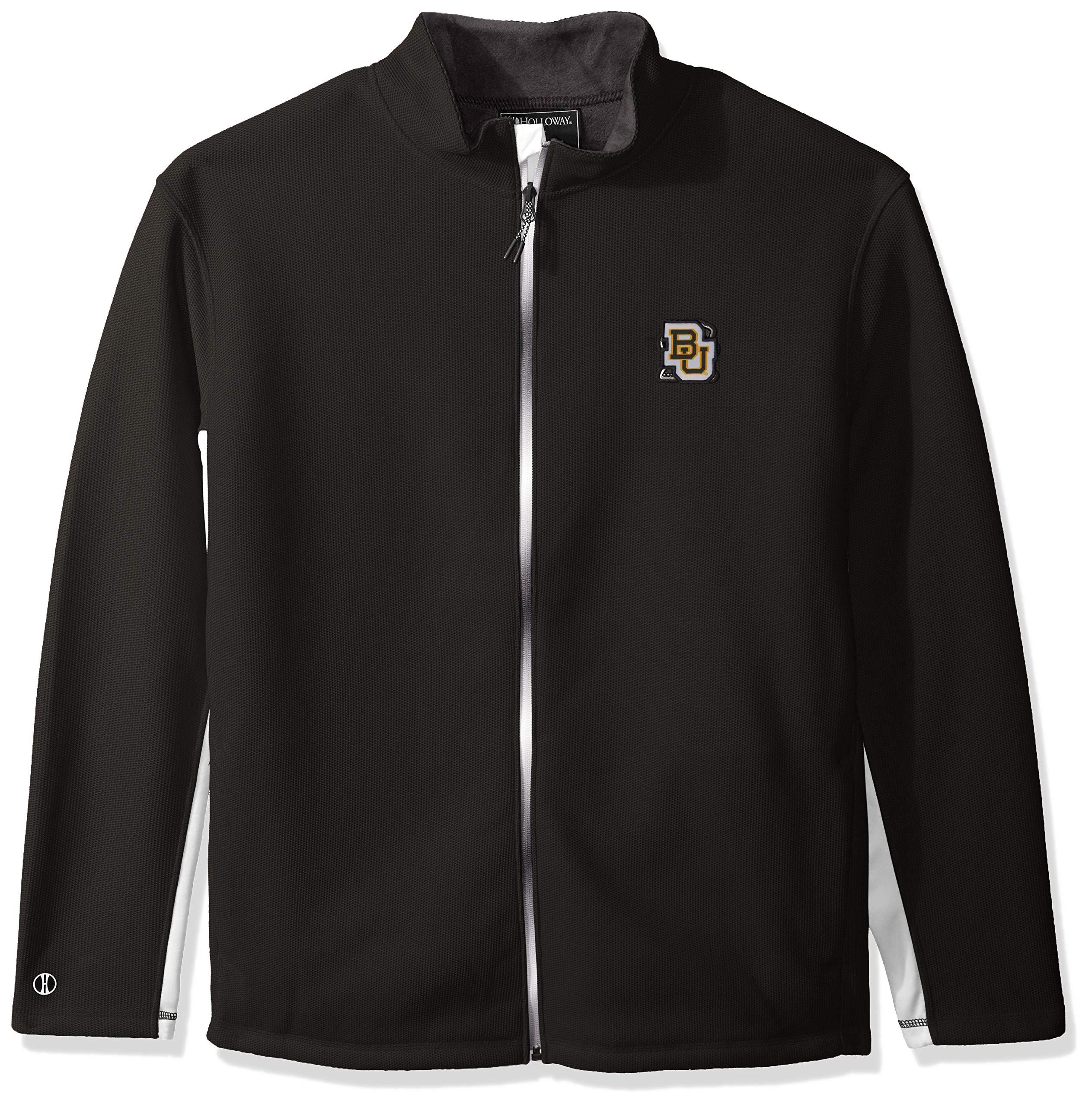 Ouray Sportswear NCAA Baylor Bears Men's Invert Jacket, Carbon/White, XX-Large
