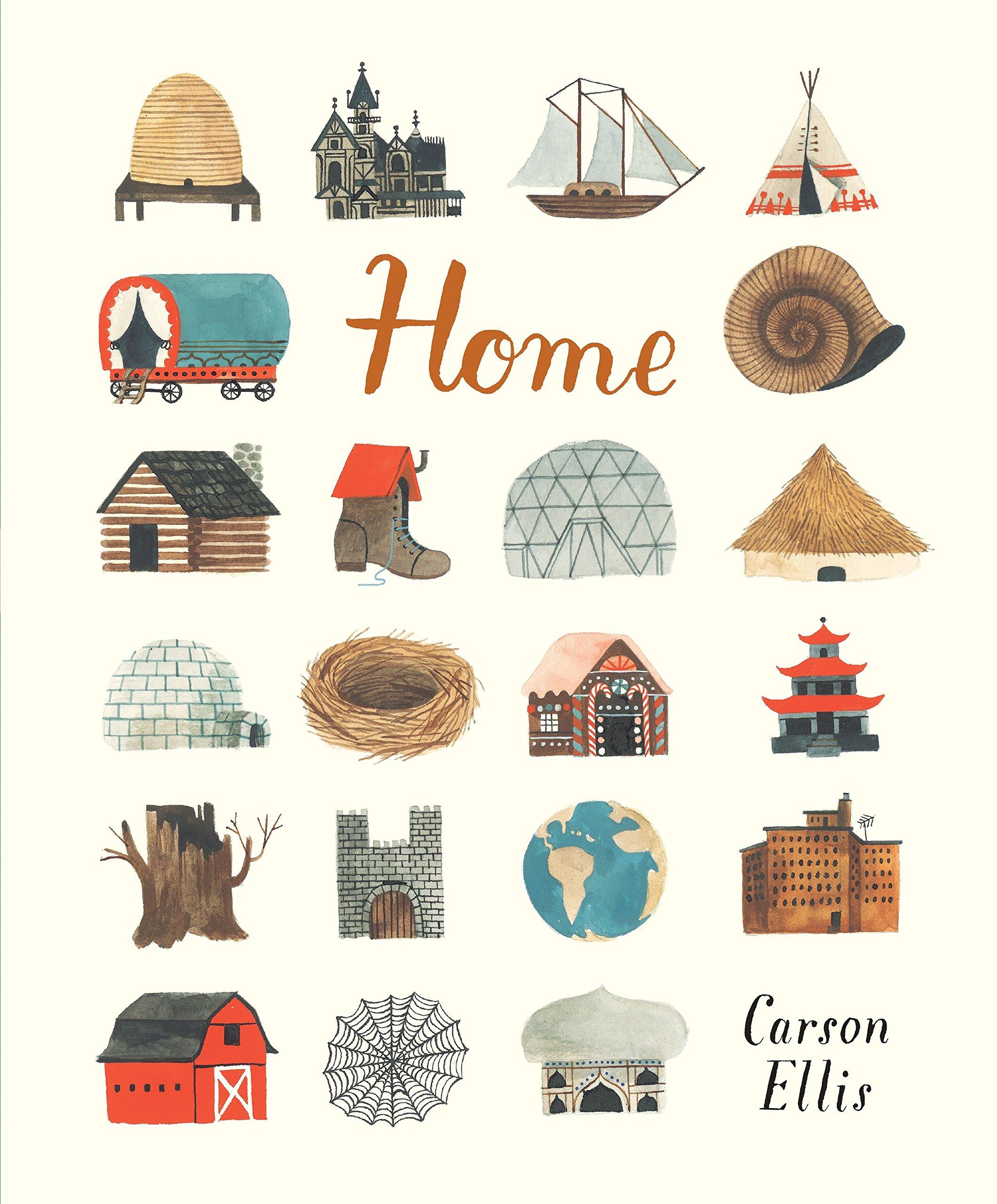 Home: Ellis, Carson, Ellis, Carson: 9780763665296: Amazon.com: Books