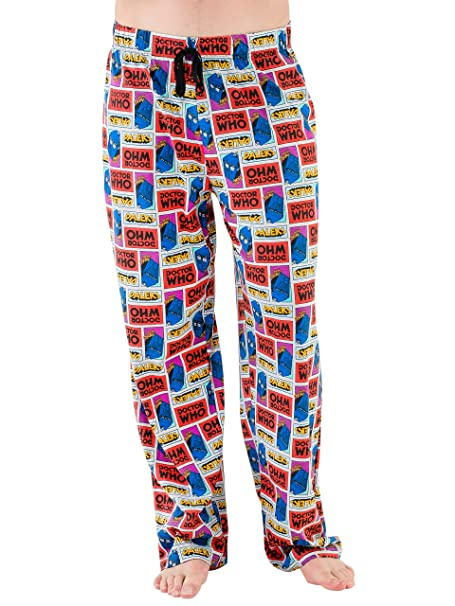 Dr Who Mens Tardis Lounge Pants  Amazon.ca  Clothing   Accessories 143801494