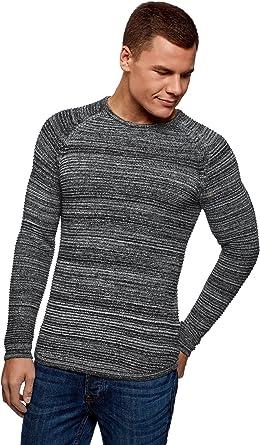 oodji Ultra Mens Long Sleeve Henley T-Shirt