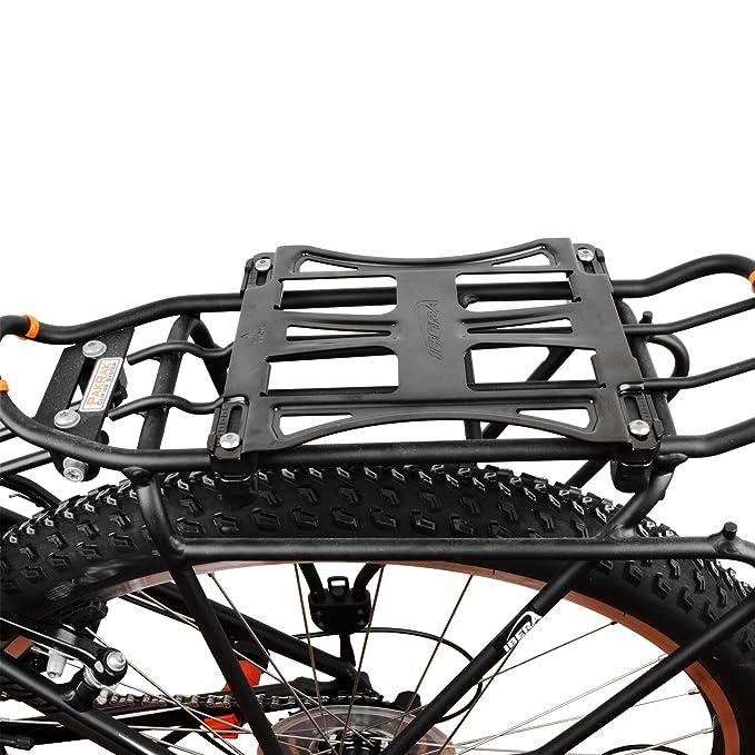 Amazon.com: Ibera PakRak bicicleta Commuter Multimount Bolsa ...