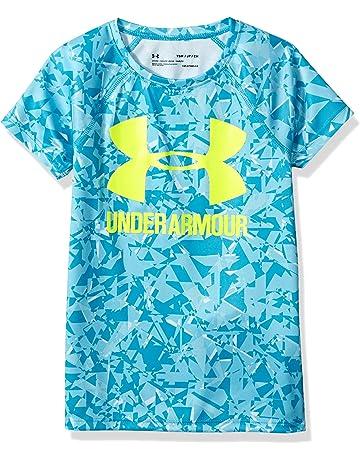 1d6afec76 Under Armour Girls' Big Logo Tee Novelty Short-Sleeve Shirt