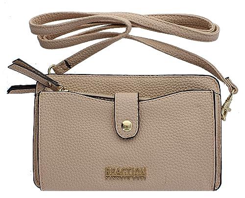 3e355b5ec0b Kenneth Cole Reaction KN1868 Alpine Mini Cross Body Bag (PALE)  Handbags   Amazon.com