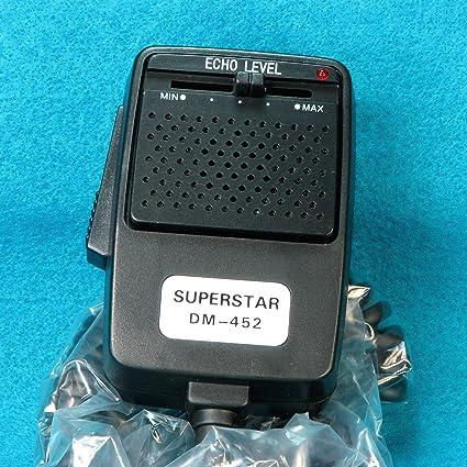 91 AWSIW9BL._SX425_ amazon com workman dm452 replacement cb radio echo microphone superstar dm-452 wiring diagram at honlapkeszites.co