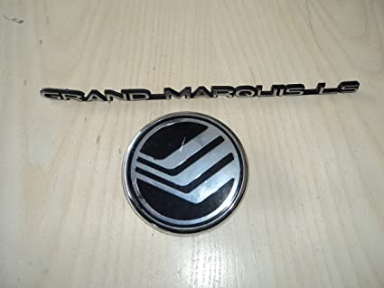 Amazon 98 Mercury Grand Marquis Ls Rear Used Emblem Nameplate