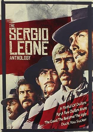 Sergio Leone Anthology The Amazon De Dvd Blu Ray
