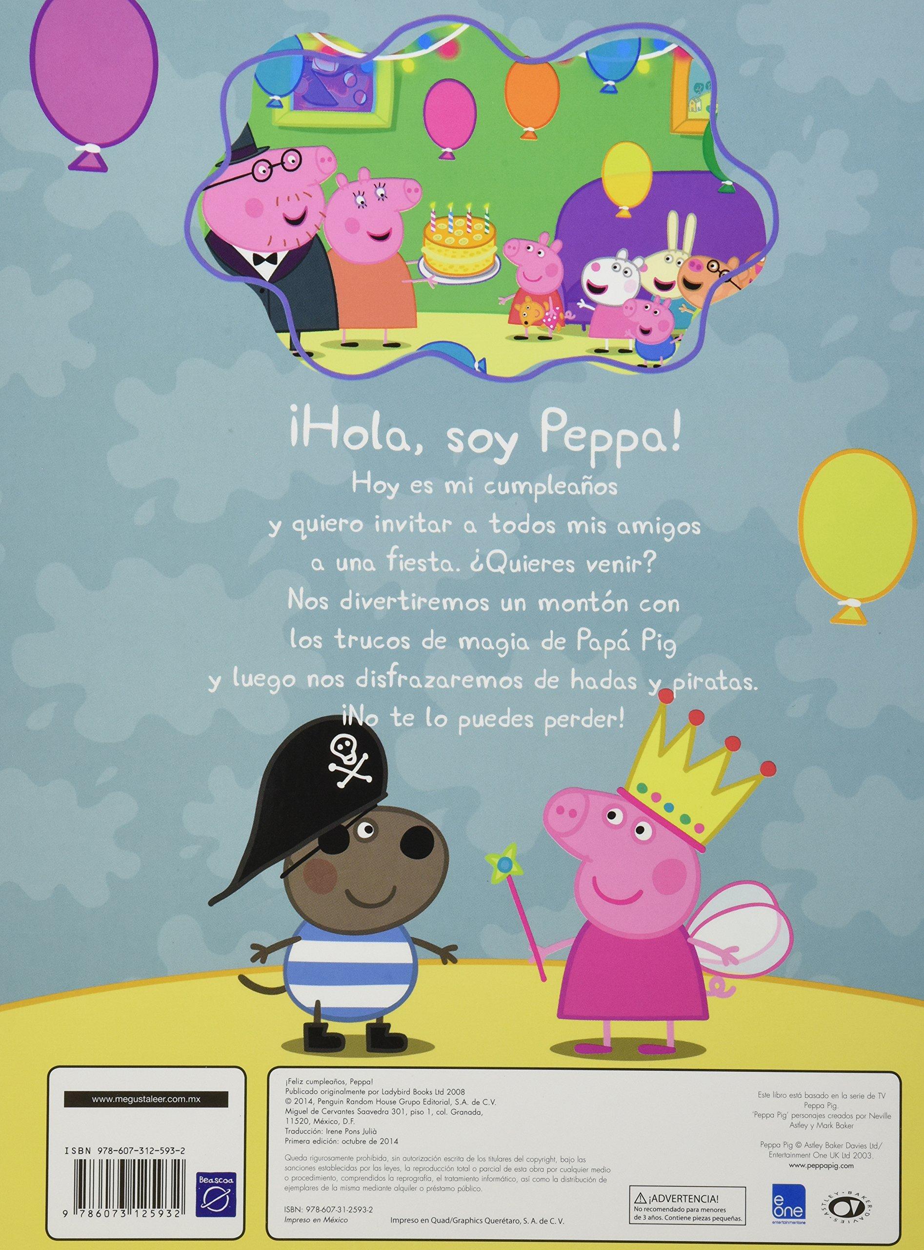 Feliz cumpleaños, Peppa!: EONE: 9786073125932: Amazon.com: Books