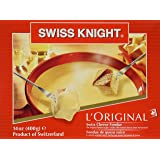 Swiss Knight Fondue - L'Original From Switzerland, 14 Oz.