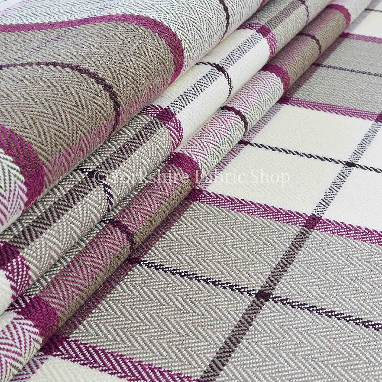 Yorkshire Fabric Shop Tartán escocés Plaid como diseño de ...