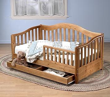 Sorelle Grande Toddler Bed Oak On Pine