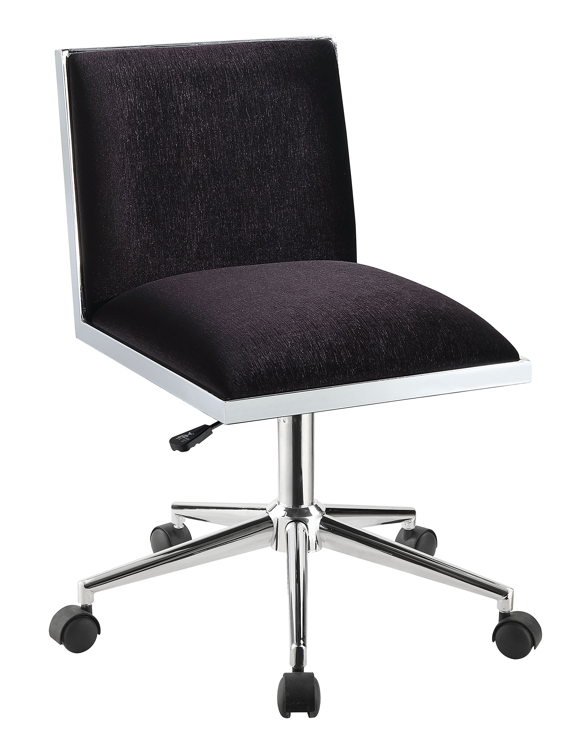 HOMES: Inside + Out IDF-FC655BK Violas Office Chair, Black