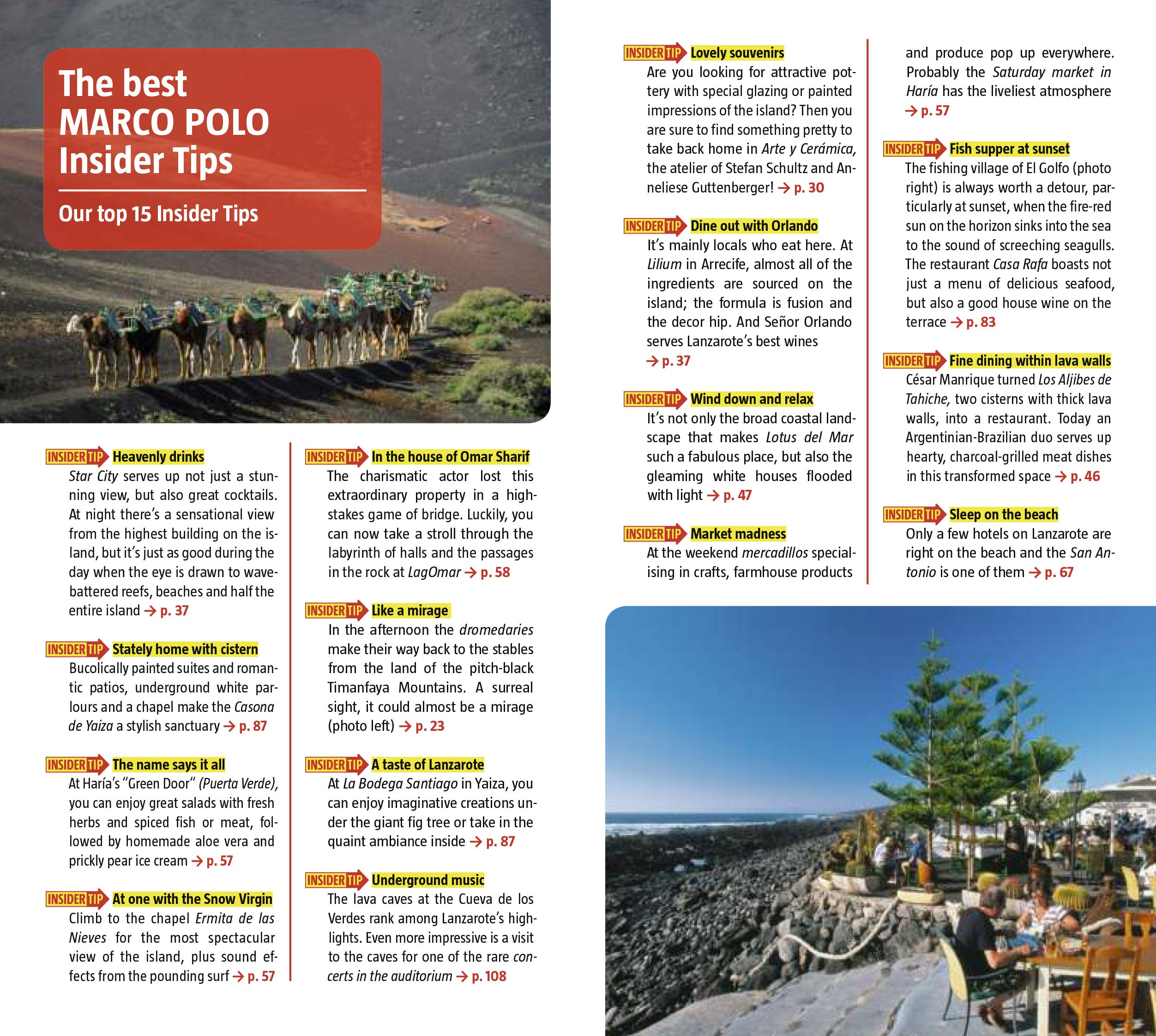 Lanzarote Marco Polo Guide (marco Polo Guides): Marco Polo Travel  Publishing: 9783829706674: Amazon: Books