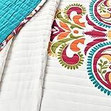 Lush Decor Clara Quilt 3 Piece Reversible Bedding