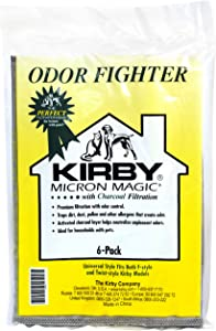 Kirby Odor Fighter Charcoal Filter Bag 6 Pack Disposible Vacuum