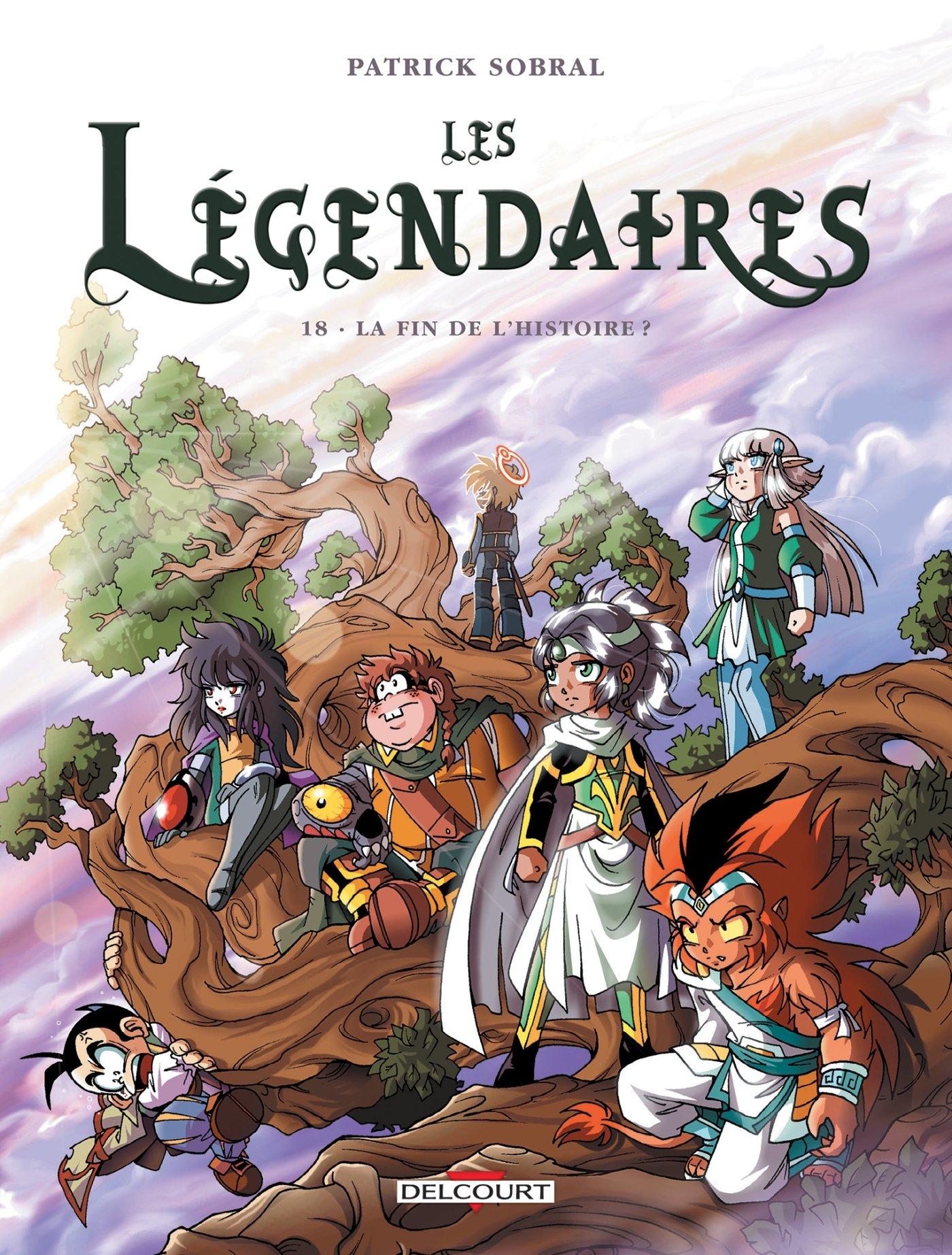 Les Légendaires, tome 18 : La Fin de l'histoire Album – 7 octobre 2015 Patrick Sobral Delcourt 2756053570 Bandes dessinées