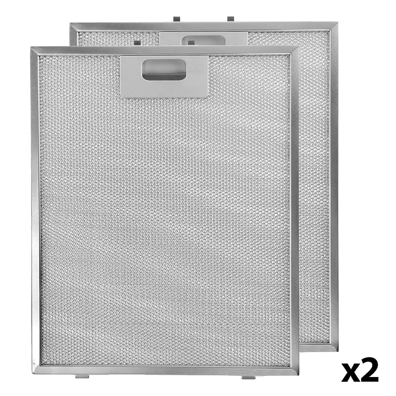 Spares2go - Rejilla de ventilación de filtro de aluminio para ...