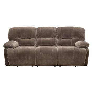 Superieur Emerald Home Furnishings Harrison Motion Sofa With Power, Standard, Brown