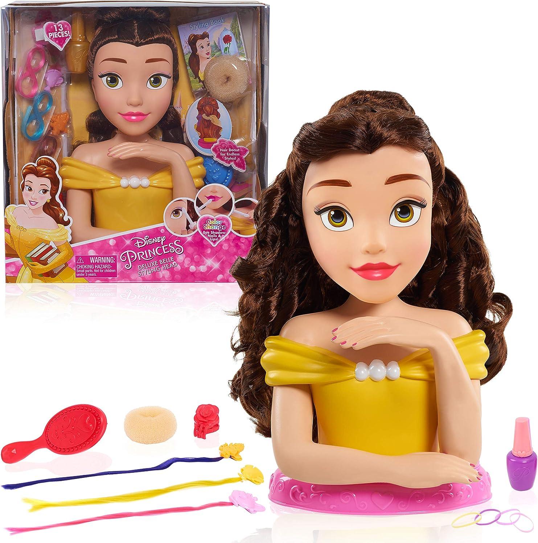Amazon Com Disney Princess Jpl87355 Princess Deluxe Belle Styling