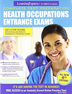 psb hoae review complete health occupations aptitude test study rh amazon com the complete preparation guide - health occupations entrance exams by learning express pdf the complete preparation guide - health occupations entrance exams pdf